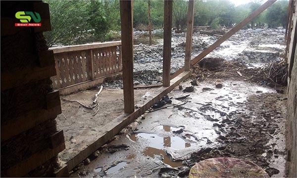 چترال میں سیلاب کی تباہ کاریوں کی تصاویر