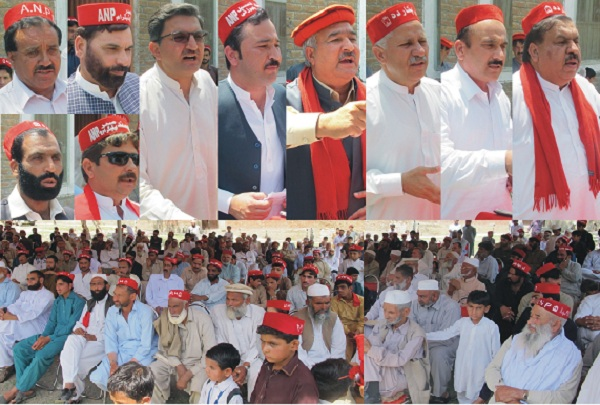 ANP is the Pukhtune rights party said sher shah