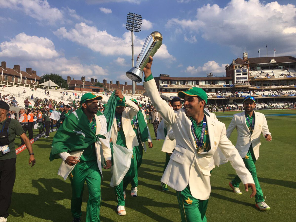 Pakistan win Champion Trophy from India in England