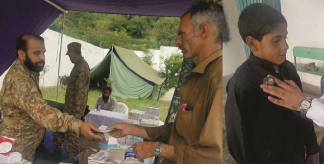 مٹہ میں پاک ارمی کے طرف سے دو روزہ فری میڈیکل کیمپ 15 ستمبر کو ہوگا