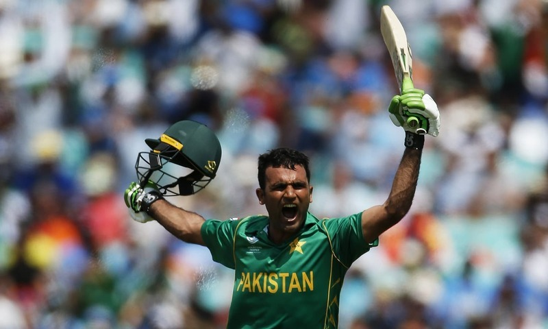Fakhar zaman sign news contract
