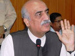 Nawaz Sharif Difficulties Responsible are his own friends said Khurshid Shah