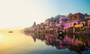 One thousand old city of india come on surface of sea