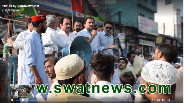 ppp Protest Against load shedding