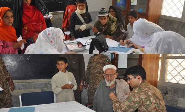army free medical camp in sheen khwazkhela