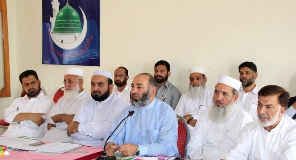 Amir Jumaat  e Islami Mushtaq Ahmad Media Talk