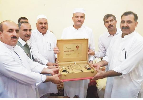 دیار غیر میں بسنے والے پختونوں نے ملک کی ترقی میں اہم کردار ادا کیا، حیدر خان ہوتی
