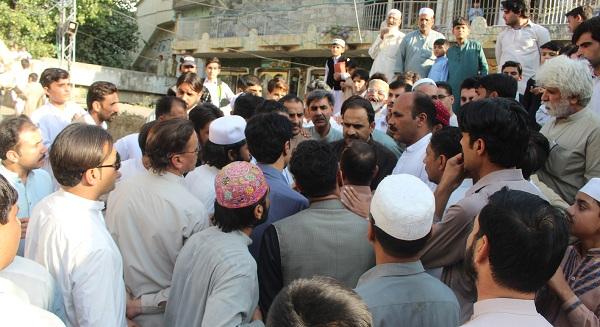 تحریک انصاف نے اپنے وعدے پورے کئے ،کرپٹ افراد کی گنجائش نہیں ہے، فضل حکیم