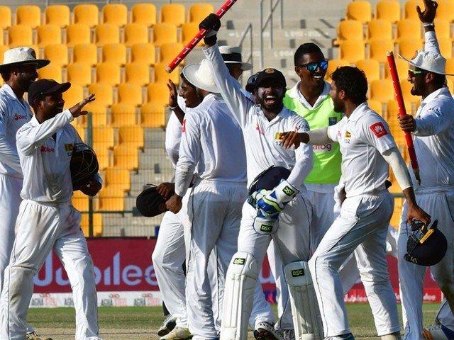 سری لنکا نے دوسرے ٹیسٹ میں بھی پاکستان کو شکست دیدی
