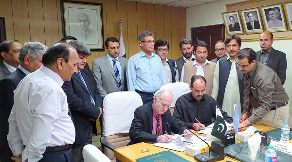 سوات یونیورسٹی اور پاکستان کونسل آف سائنس اینڈانڈسٹریل ریسرچ کے درمیان مفاہمتی یادداشت پردستخط