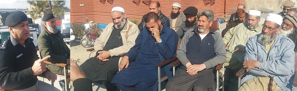 عوام مشکوک افراد پر نظر رکھیں، عوامی تعاون کے بغیر مسائل کا حل ناممکن، اکبر خان شنواری