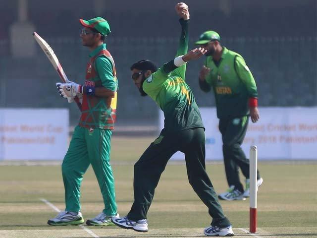 بلائنڈ ورلڈ کپ؛ پاکستان کا بنگلا دیش کو ہرا کر فاتحانہ آغاز