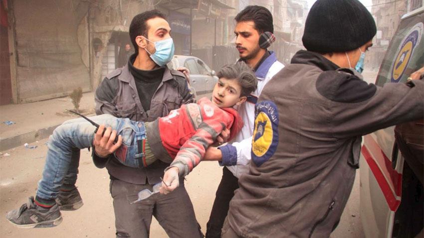 عالمی ہنگامی فنڈ کا شام میں مشرقی غوطہ سے بیمار اور زخمی بچوں کے غیر مشروط انخلاء پر زور