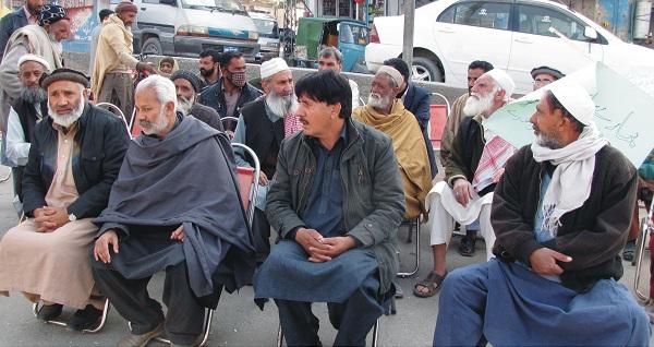 سیدو شریف ہسپتال کو زمین دینے والوں کا احتجاج شروع، صوبائی حکومت پر بڑا الزام عائد