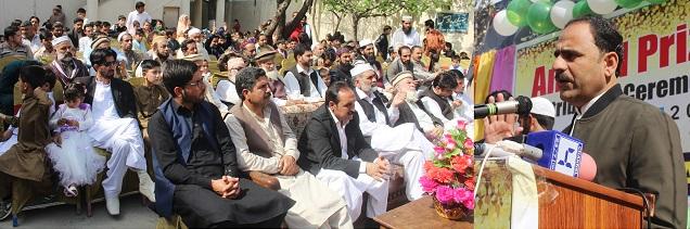 تعلیم پاکستان تحریک انصاف کے منشور کے اولین ترجیحات میں شامل ہے/فضل حکیم خان