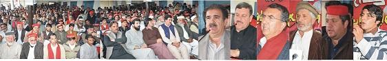 عوام نے ائندہ الیکشن میں عوامی نیشنل پارٹی کی ہاتھوں حقیقی تبدیلی لانے کا فیصلہ کیا ہے/محمد ایوب خان
