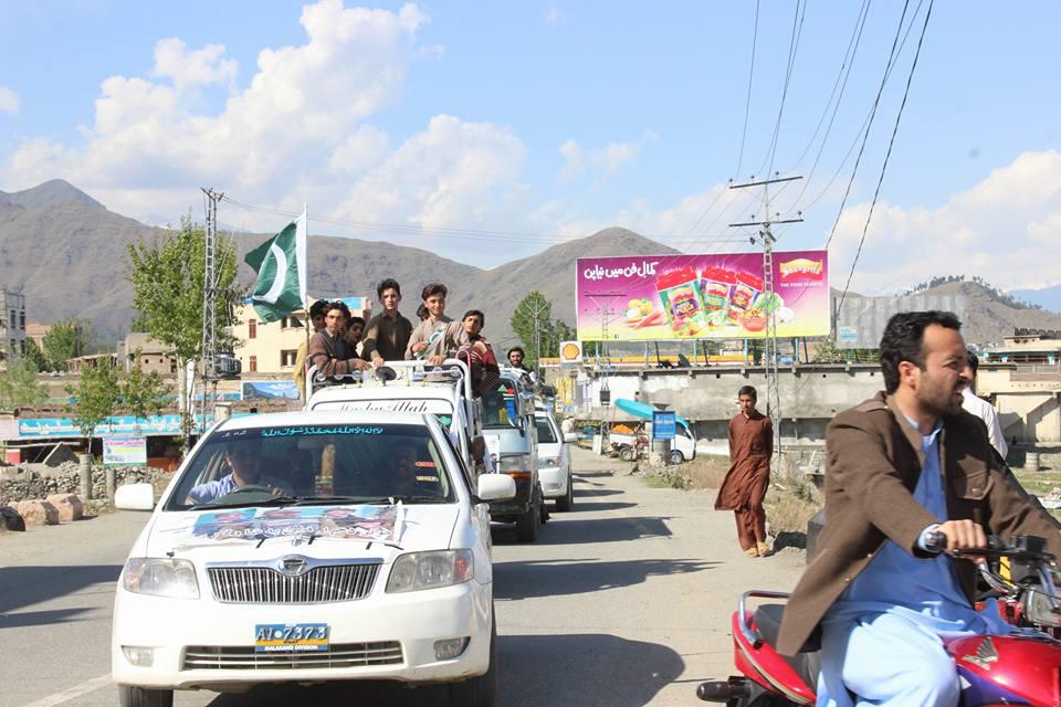 منظور پشتین غیر ملکی ایجنٹ، ہر حال میں عزائم خاک میں ملادینگے، سوات میں جلسہ سے مقررین کاخطاب