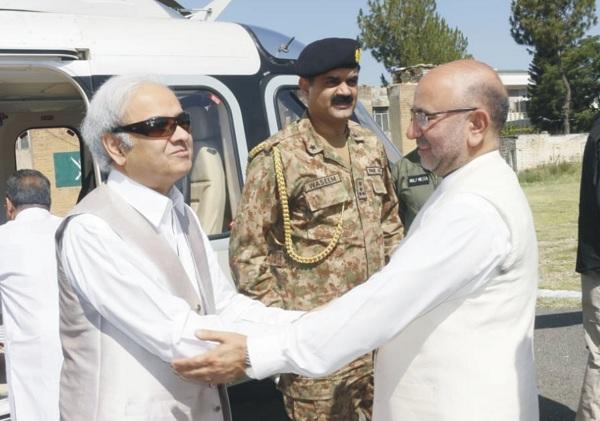 نگران وزیر اعظم ناصر الملک ابائی علاقہ پہنچ گئے ، سیکورٹی کے سخت ترین انتظامات