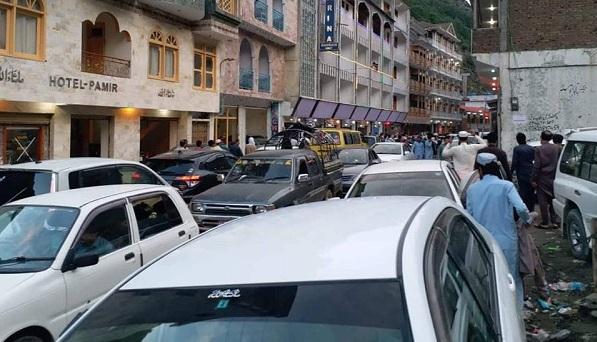 عید کے تین روز، 60 ہزار گاڑیوں میں 5 لاکھ سے زائد سیاح سوات پہنچے