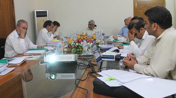 یونیورسٹی آف سوات کی سنڈیکیٹ کا 26واں اجلاس وائس چانسلر کی زیر صدارت منعقد