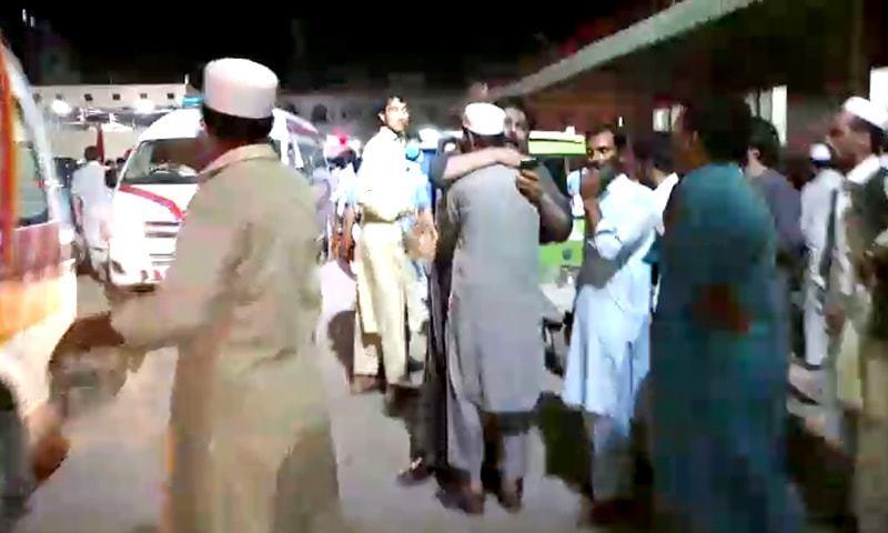 پشاور میں دھماکہ ، بشیر بلور شہید کا بیٹا ہارون بلور شہید