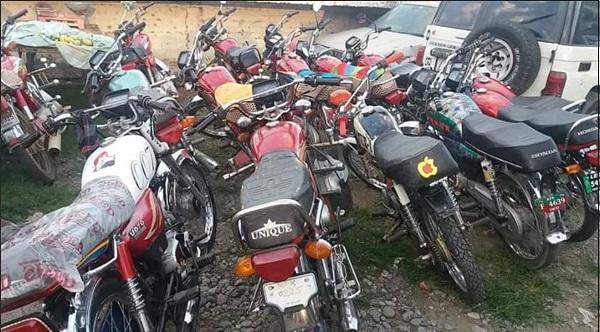 کمسن موٹر سائیکل سوارو ں کیخلاف کریک ڈاؤن،28 ایف ائی ار درج