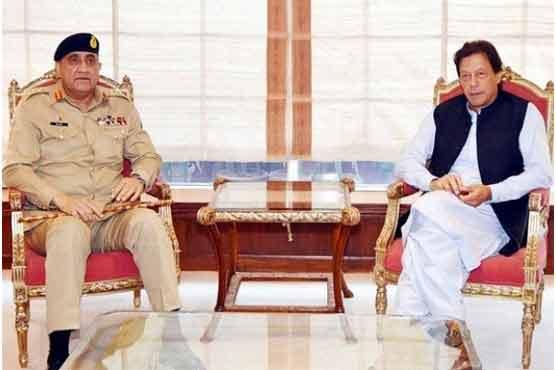 وزیراعظم اور آرمی چیف کی ملاقات، امن وامان کی صورتحال کا جائزہ