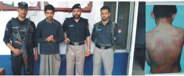Police arrested School Teacher in matta swat