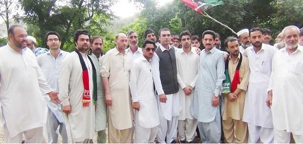 200 Gujar Joined PPP In Barikot Swat