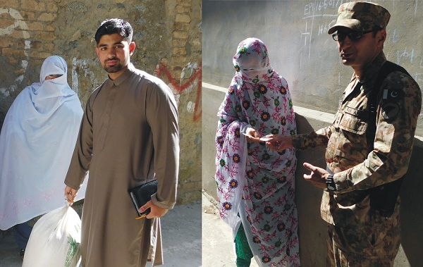 Pak Army Help The Wife of Death Person