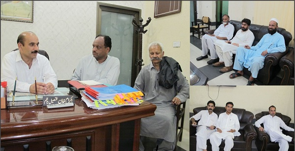 Tehsil Nazim swat Announced Protest in the office of wapda against load shedding