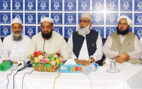 Religious nobles are against the suicide attacks and militancy said qari Hanif