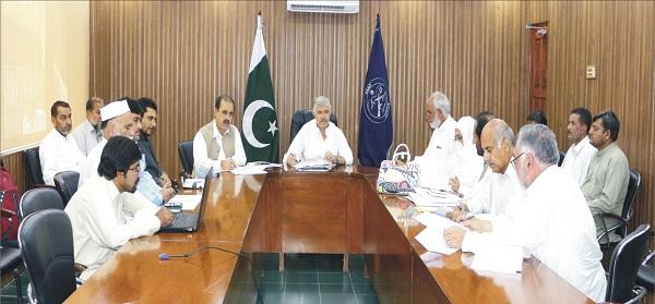 Minister Mehmood khan