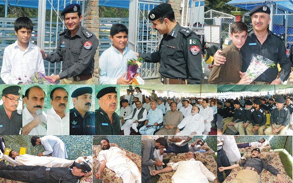 Martyred Police always in live on our hart said DIG Akhtar Hayat