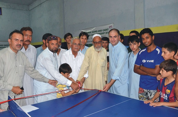 National Hope Table Tenus Tournament Started in Barikot Swt