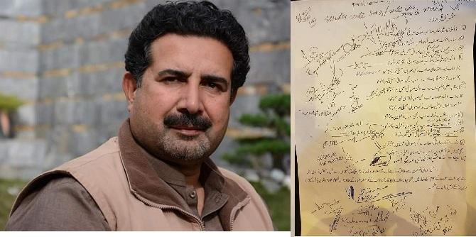 ڈاکٹر حیدر نے سوات کے طلبا وطالبات کے دل جیت لئے ۔ ۔ ۔ اہم قرارداد جمع