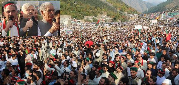 اگلے الیکشن میں تحریک انصاف کو کامیاب کریں میں اپر سوات کو ضلع بنانے کیلئے تیارہوں، وزیر اعلیٰ کا اعلان