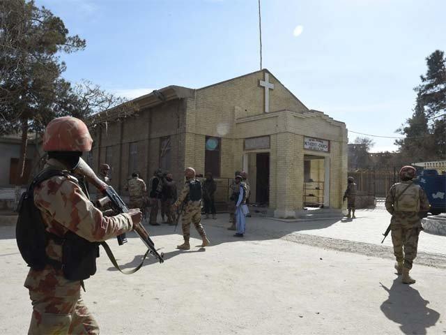 کوئٹہ میں چرچ پر خودکش حملے میں 8 افراد جاں بحق، 25 زخمی