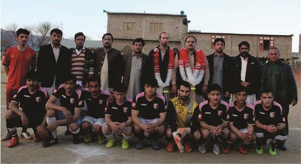 مٹہ میں فاروق شہید الیون فٹ بال ٹورنمنٹ رنگینیوں کے ساتھ اختتام پذیر