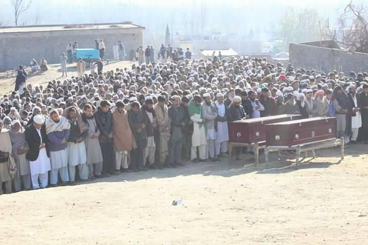 سعودی عرب میں مزدوری کرتے ہوئے دو بھائی جاں بحق ، نماز جنازہ ادا ، ہر انکھ اشکبار