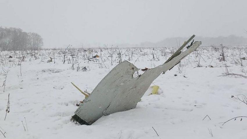 روسی طیارہ ماسکو کے قریب گر کر تباہ،71مسافر ہلاک،خبر رساں ادارے