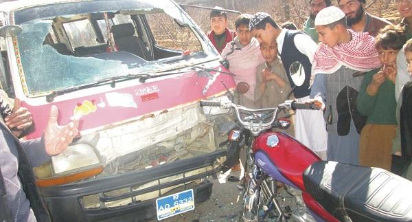 سوات، پک اپ کھائی میں گرگئی، دو افراد جاں بحق پانچ زخمی