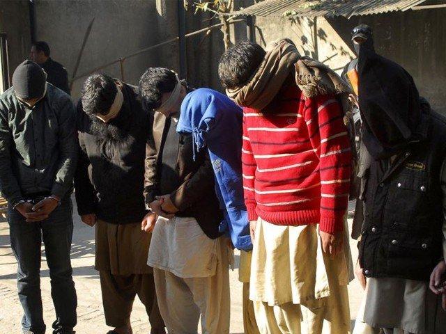 لاہور میں دہشت گردی کا منصوبہ ناکام، خود کش حملہ آور سمیت 6 دہشت گرد گرفتار
