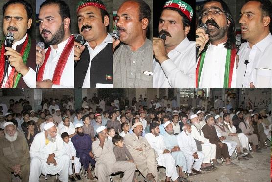 سوات میں سیاسی پارٹیوں کو دھچکے، ن لیگ، اے این پی کے اہم افراد پی ٹی ائی میں شامل