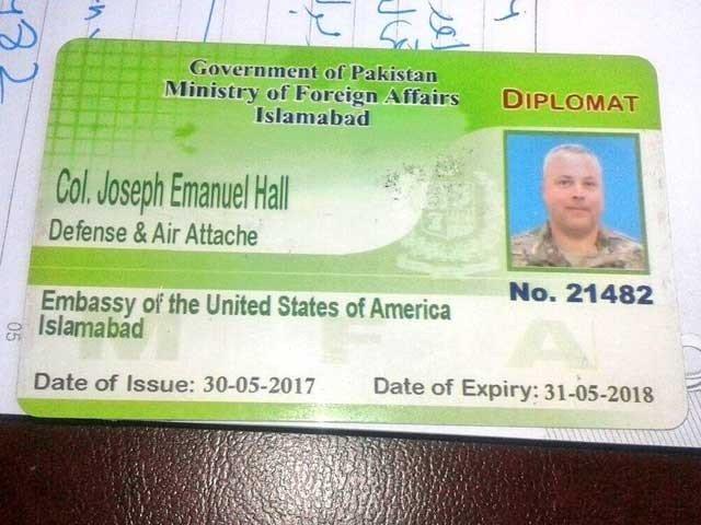 نوجوان کو کچلنے والا امریکی سفارت کی فرار کی کوشش ناکام