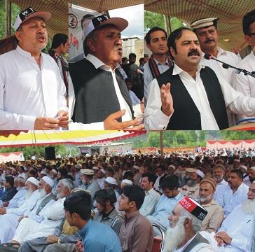 پختون قوم کو انکے جائز حقوق دینے میں پنجاب اور مرکزی حکومت سب سے بڑی روکاوٹ ہے،سکندر شیرپاؤ
