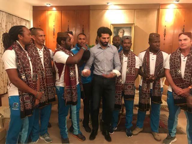 ویسٹ انڈیز کی ٹیم 3 ٹی ٹوئنٹی میچ کھیلنے پاکستان پہنچ گئی
