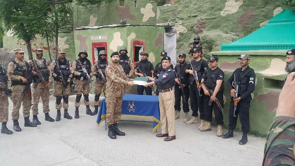 پاک فوج نے اہم چیک پوسٹ پولیس کے حوالے کردی