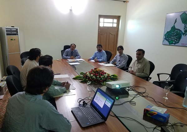 سوات یونیورسٹی میں فارسٹری ڈیپارٹمنٹ شروع کرنے کیلئے ڈاکٹر سروت ناز کا دورہ