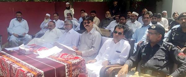 ڈپٹی کمشنر شانگلہ تاشفین حیدر نے الپوری میں کھلی کچہری منعقد کی